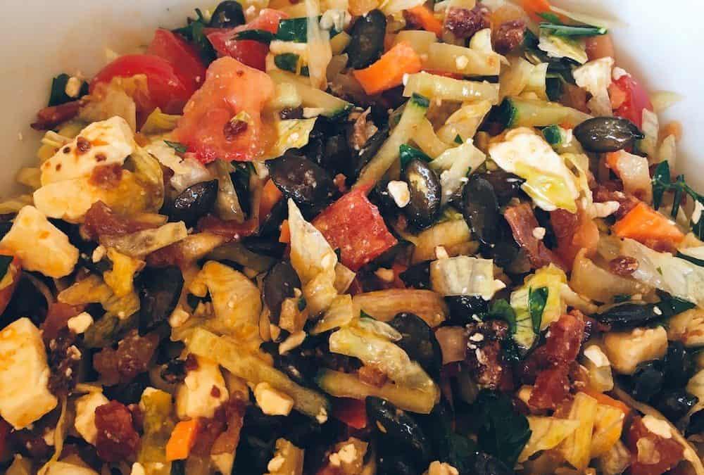 Nyári paleo saláta