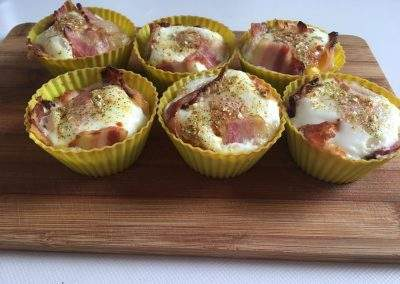 Paleo sonkás tojás