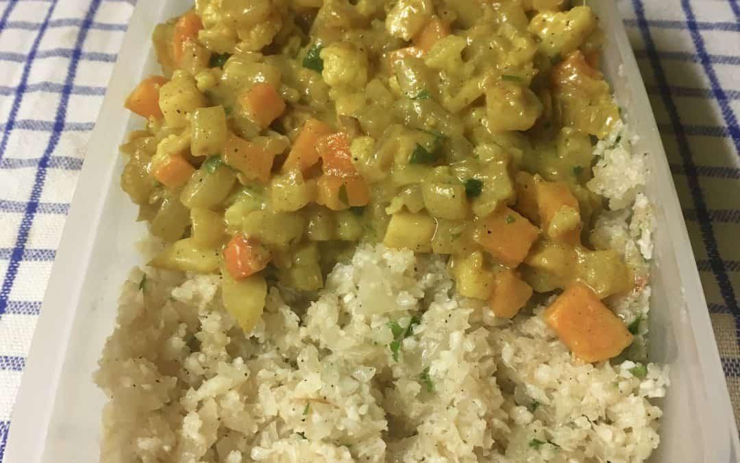 Paleo zöldség curry